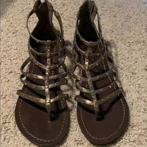 Mossimo Gladiator Sandals - Pewter